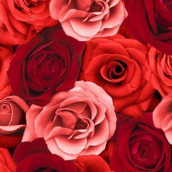 Papírové prostírání red rose, 84x84cm