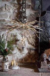 Zimní závěsná dekorace, 13 x 13 x 54 cm 731235026