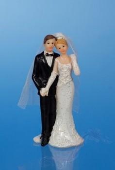 Svatební figurky Ženich a nevěsta H