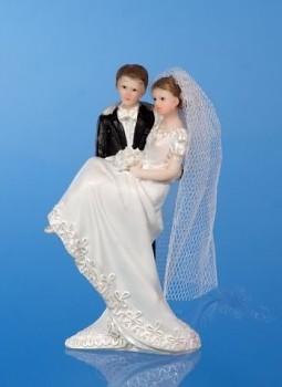 Svatební figurky Ženich a nevěsta E