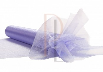 Organza sněžná, LIGHT PURPLE, 16cm/9m