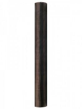 Organza hladká hnědá 36cm/9m