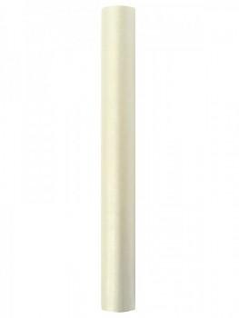 Organza hladká sv.krémová 36cm/9m