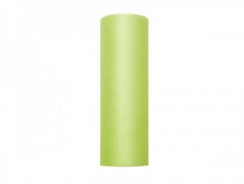 Tyl v roli světle zelený 15 cm x 9 m - 731191561