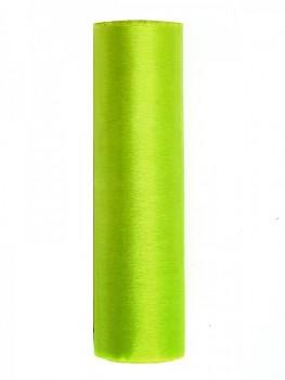 Organza hladká jasná zelená, 16cm/9m