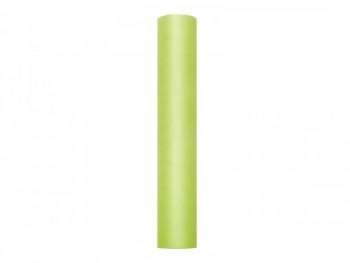 Tyl v roli světle zelený 30 cm x 9 m