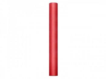 Tyl v roli, červená, 50cm/9m