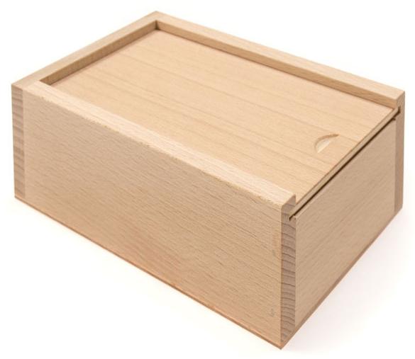 Luxusní dřevěná krabička na šle