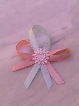 Svatební vývazky, růžové s aplikací 731256737