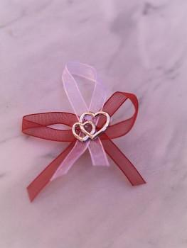 Svatební vývazky, červené s aplikací 731256828