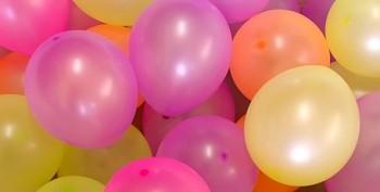 Fluoresčenční balónky neonové odstíny