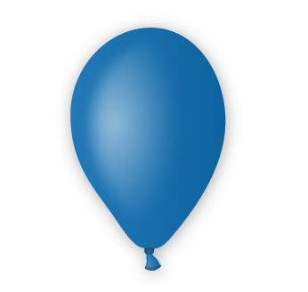 Pastelový balónek modrý