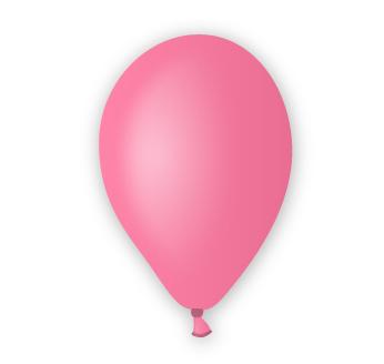 Pastelový balónek růžový