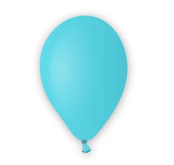 Pastelový balónek světle modrý