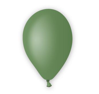 Pastelový balónek zelený