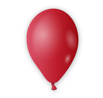 Dekorační balónek vínový