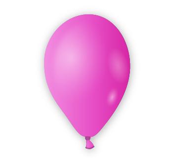 Dekorační balónek purpurový
