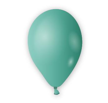 Dekorační balónek tyrkysový