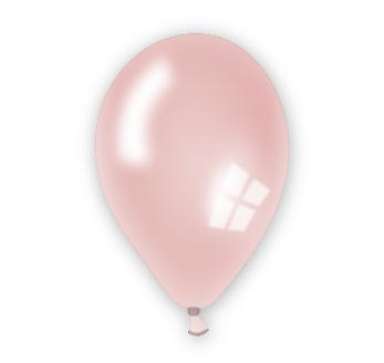 Perleťový balónek lososový