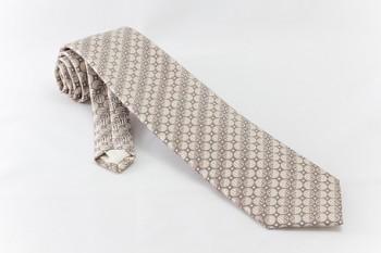 Světle hnědá kravata Avantgard