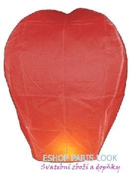 Létající přání – lampión červený