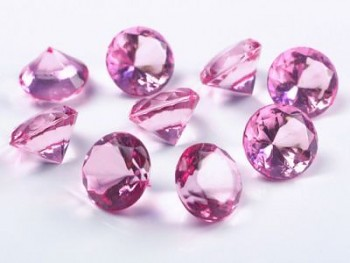Briliantové kamínky růžové