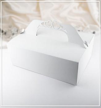 Svatební krabička na výslužku velká