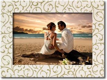 Svatební fotorámeček 10 x 15 cm