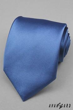Modrá kravata avantgard