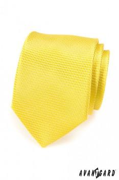 Žlutá kravata Avantgard