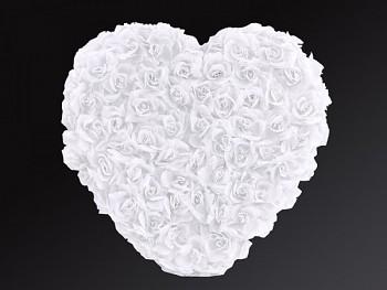 Srdce plné bílé