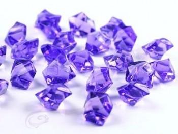 Krystalové kamínky lila