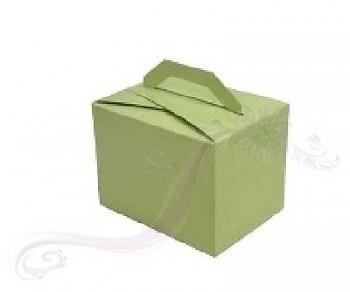 Krabička větší s ouškem zelená