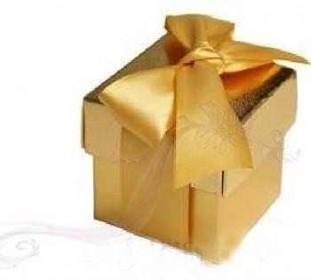 Krabička zlatá