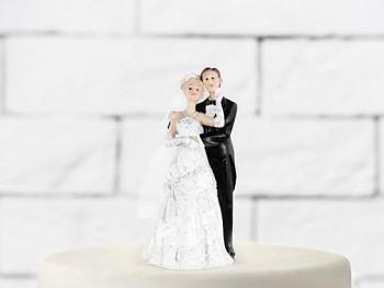Svatební figurky ženich a nevěsta C