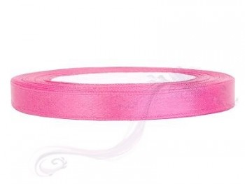 Saténová stuha růžová, 6mm/25m