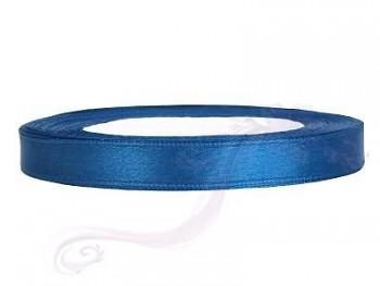 Saténová stuha modrá, 6mm/25m