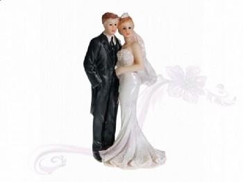Figurka novomanželé 11cm
