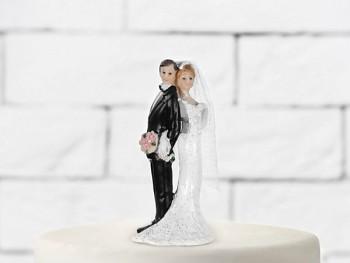 Svatební figurky Ženich a nevěsta J