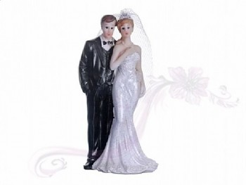 Figurka novomanželé 10cm