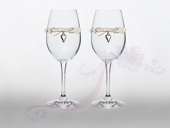 Skleničky na víno 2,  2ks
