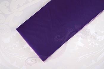 Tyl široký tenký fialový - 731190429