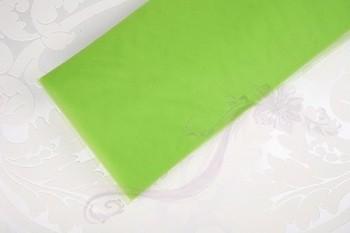 Tyl širkoký zelený