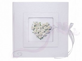 Svatební kniha - fotoalbum, 20,5*20,5cm