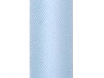 Tyl v roli světle modrý 50 cm x 9 m