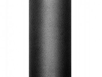 Tyl v roli černý 30 cm x 9 m