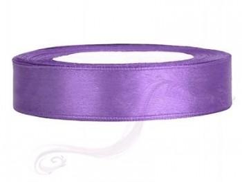 Saténová stuha  lila, 12mm/25m