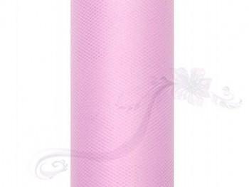Tyl v roli, sv.růžový, 50cm/9m