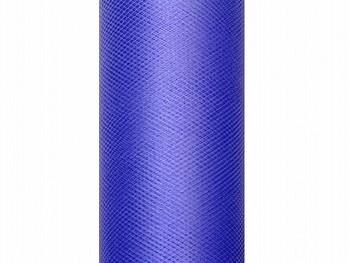 Tyl v roli královská modrá 30 cm x 9 m