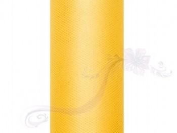 Tyl v roli, žlutý, 30cm/9m